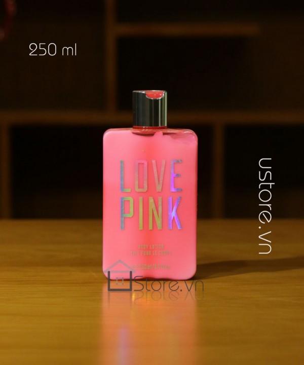 Kem dưỡng da Pink body lotion Vitoria's Secret