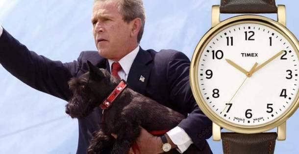 Tổng thống Bush và chiếc Timex Originals